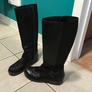 EUC‼️ Kenneth Cole Riding Boots size 7 🖤💋